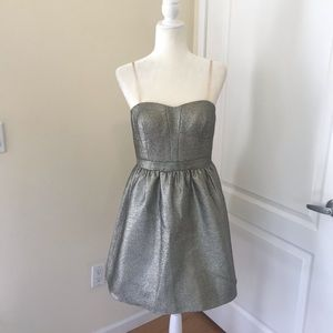 AQUA by Bloomingdales Gold Cocktail Dress prom 10